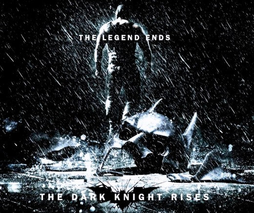"Promotional poster for ""The Dark Knight Rises"""