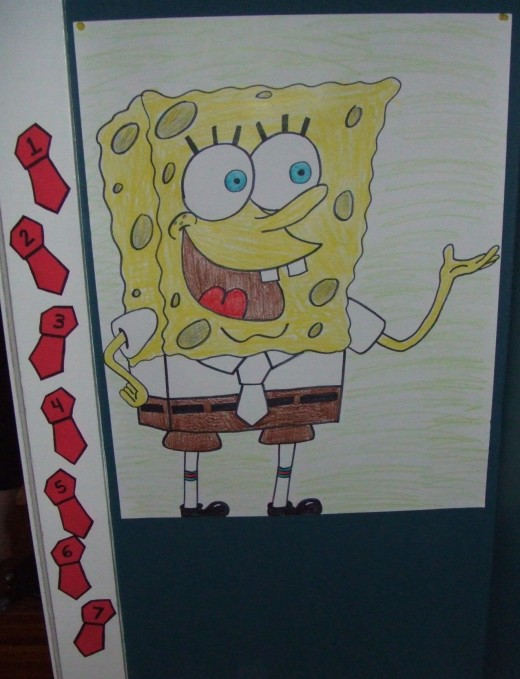 Pin the Tie on Spongebob