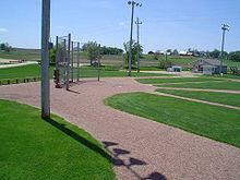 'Field of Dreams' baseball diamond