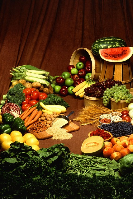 Calcium rich fruits and vegetables