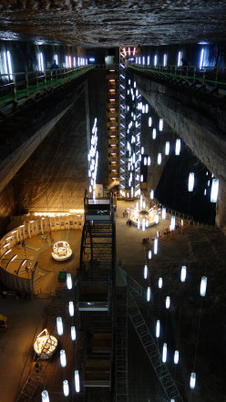 Visiting The Salt Mine of Turda in Romania