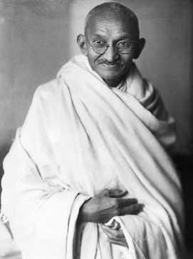 Mohandas Karamchand (Mahatma) Gandhi of India