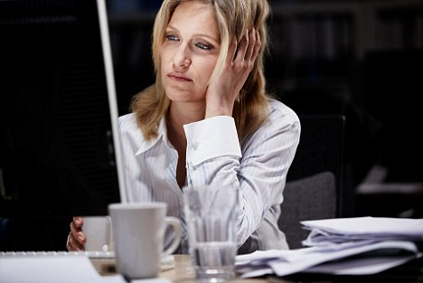 Working odd hours may cause headaches along with other health issues.