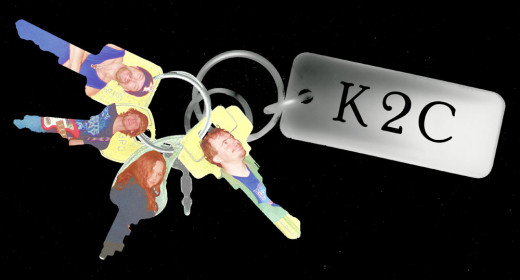 Image used on Keys to the Confessional flier. K2C played on several songs in the album NaCl.
