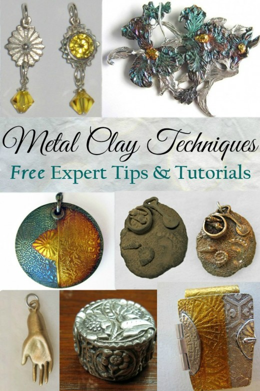 Metal Clay Techniques - free expert tips & tutorials by Margaret Schindel