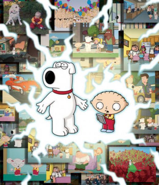 BFFS Bromance Stewie and Brian