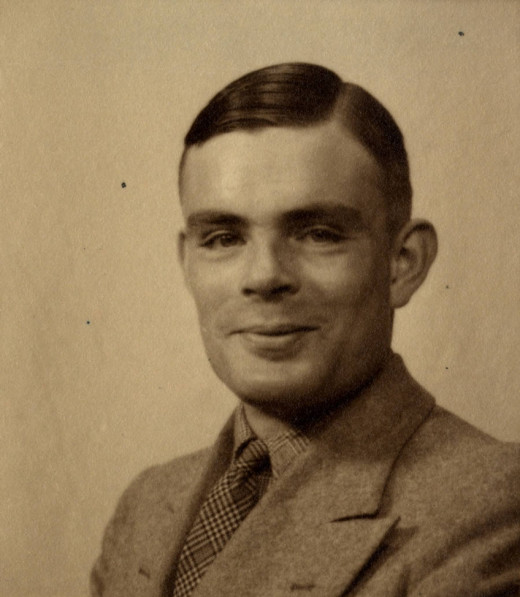 Turing, mathematical genius and war hero.