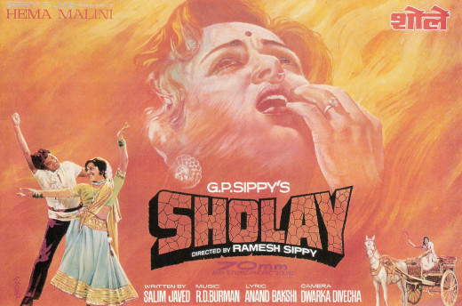 Sholay - Indian Hindi action-adventure film