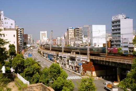 JR Train Motomachi Station Kobe Hyogo Japan