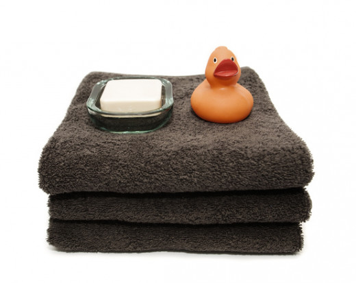 Bath towels and washcloths can lose their absorbency over time. They also become a host to bacteria that can cause odors.