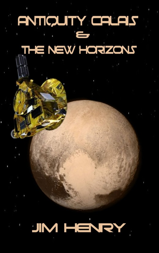 The images of Pluto and New Horizons are provided by NASA, used with permission. Nice to meet you Pluto!