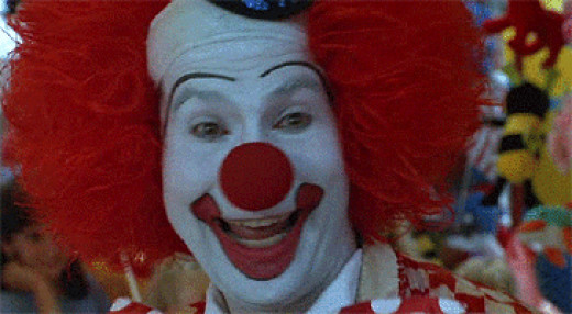 "Clown from the Movie: ""Problem Child"""