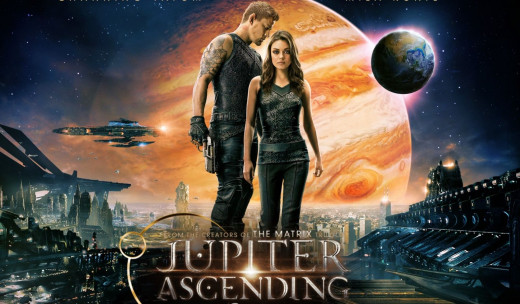 """Jupiter Ascending"" Movie Poster"