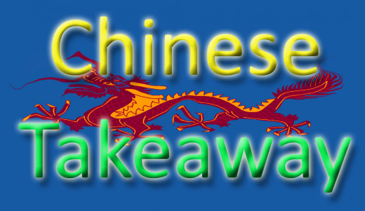 """She stood, silhouetted against the neon glow of the Chinese takeaway..."""