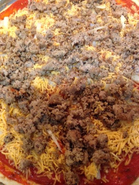 Add Cooked 98% Lean Ground Turkey