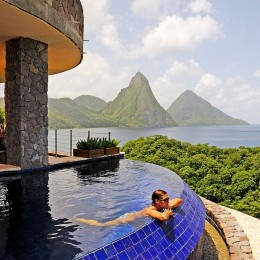 St. Lucia, The Caribbean / Jade Mountain