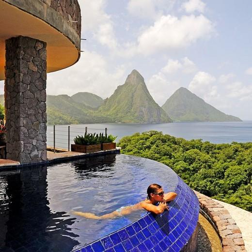 St. Lucia, The Caribbean / Jade Mountain