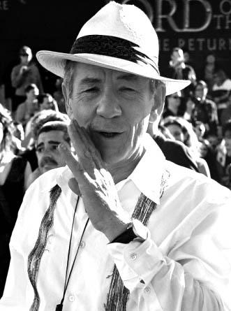 British actor Sir Ian McKellen