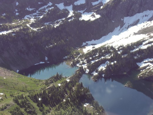 More lakes.