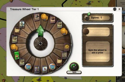 Stronghold Kingdoms MMO - Treasure Wheel