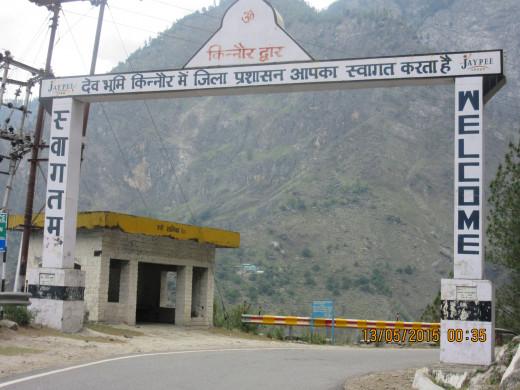 gateway to kinnaur
