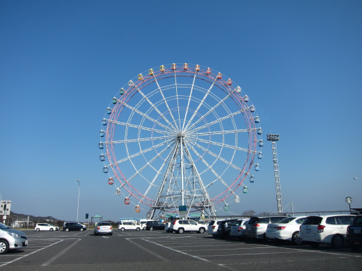 Ferris Wheel Awaji Island Hyogo Japan