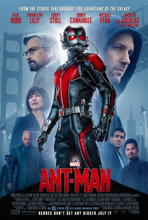 Movie Poster for Ant Man