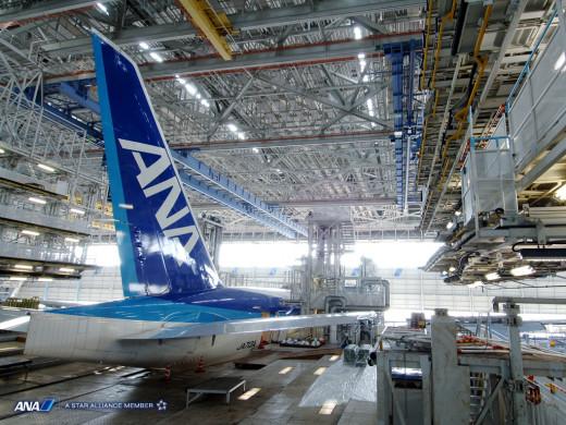 ANA Maintenance Facility Haneda Tokyo Japan