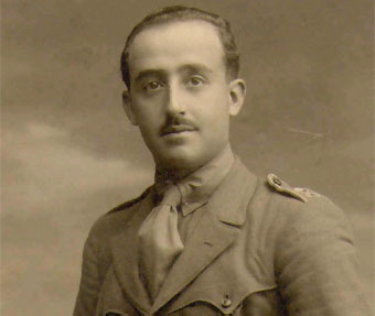 Francisco Franco (in 1923). In a bid to overthrow the republic, Franco staged a coup in 1936 which lead to the Spanish Civil War