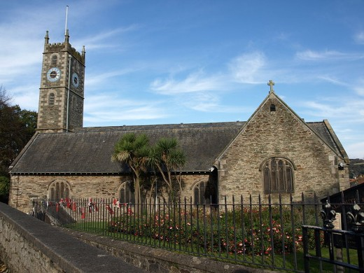 King Charles Church, the Parish Church of Falmouth.