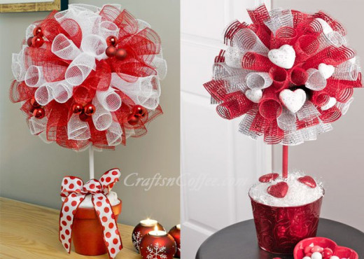 23 Clever Craft Ideas Using Deco Mesh Hubpages