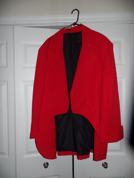 Jacket with black lining