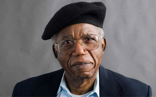 Chinua Achebe at Old age