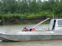 Few of these people who spend much of their lives on the river do not know how to swim, and are deathly afraid of drowning. These days every child has a life vest.  When they get on a boat they put on that vest. You don't have to ask twice.