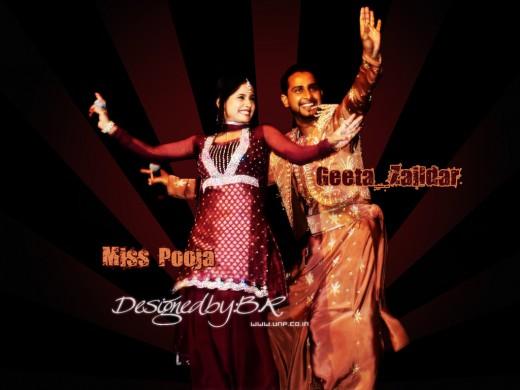 miss pooja wallpapers. Miss Pooja wallpaper by B R