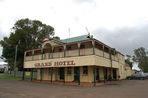The Grand Hotel, Wooroolin