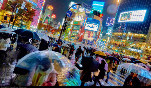 Shibuya picture by Moyan Brenn on Flickr