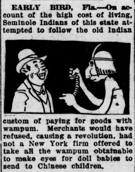 A 1917 newspaper cartoon.