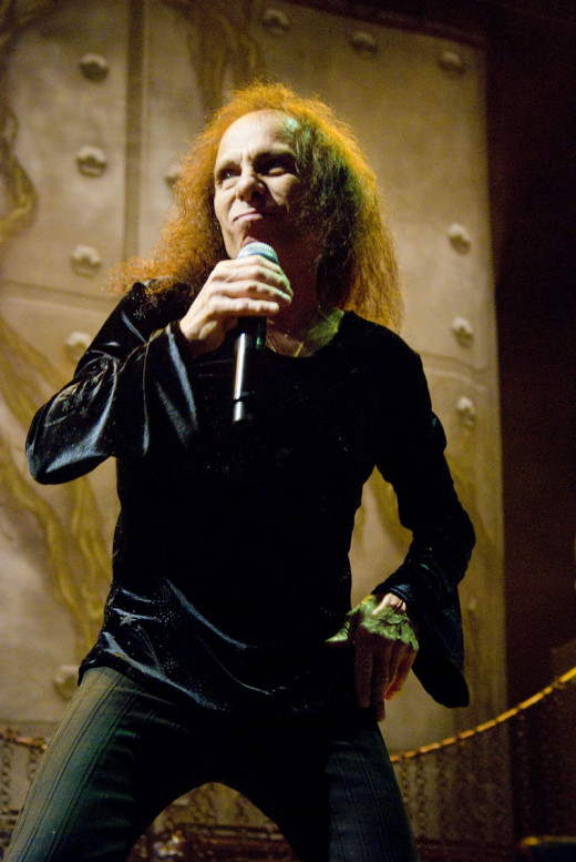 Ronnie James Dio in 2009
