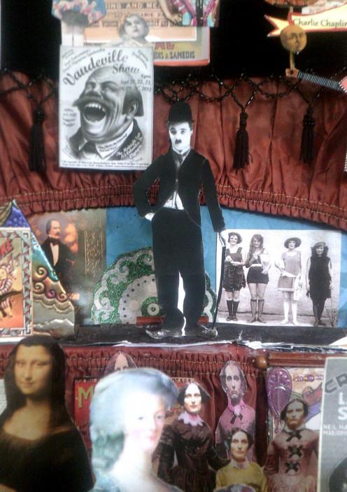 Charlie Chaplin's Traveling Vaudeville Theatre
