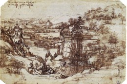 Leonardo Tuscan sketch