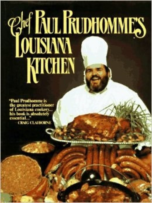 Paul Prudhomme's first cookbook. He appointed Emeril Lagasse as his successor.