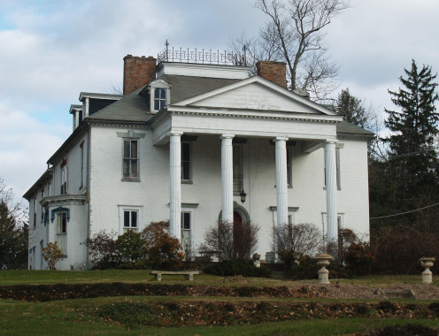 The old Ege mansion as it looks today after alterations throughout the the years.