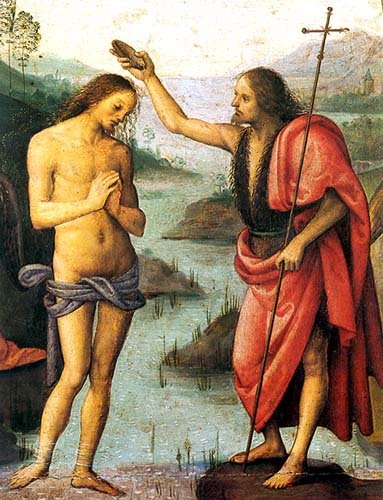 Perugino - Baptism of Christ