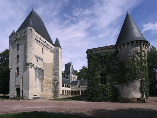 Chateau d'Argy.  A French Renaissance Castle in the town of Argy, in the Indre departement