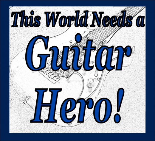 One great guitar player can save rock music and bring the guitar back into the public spotlight. Is it you?