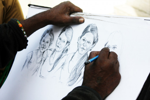 Drawing is an excellent hobby that allows you to penetrate imagination and let time pass.