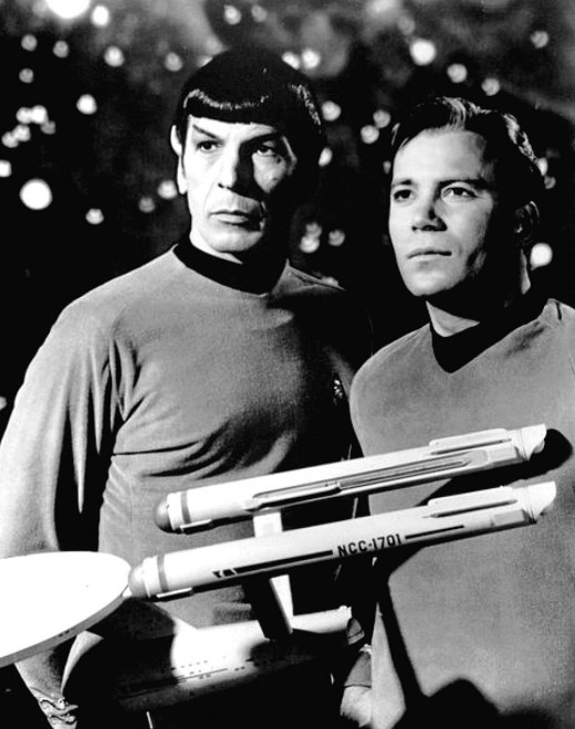 Mr Spock and the Captain weren't actually dating...