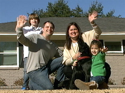 The smiles on this family's faces will soon turn to frowns when they see you.