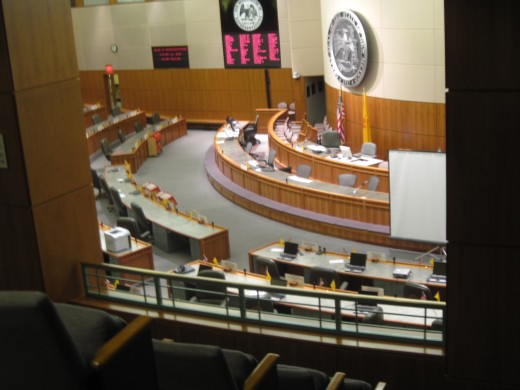 Legislative Chambers at New Mexico State Capitol Building